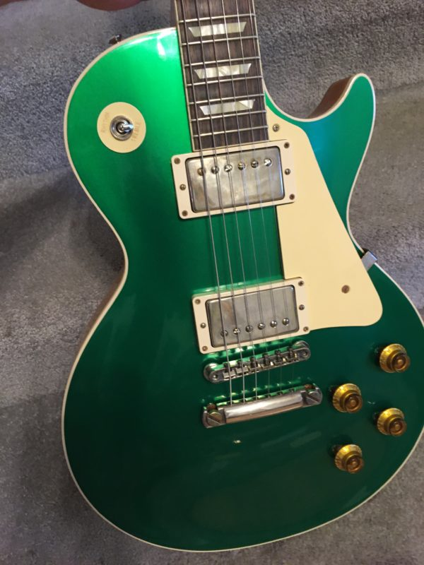 IMG 7734 600x800 - Gibson Custom Shop Historic '57 Les Paul Standard VOS Electric Guitar Candy Green