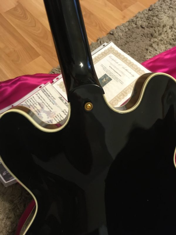 IMG 7769 2 600x800 - 1993 Gibson BB King Lucille Hand Signed by BB King W/COA-Riding With the King