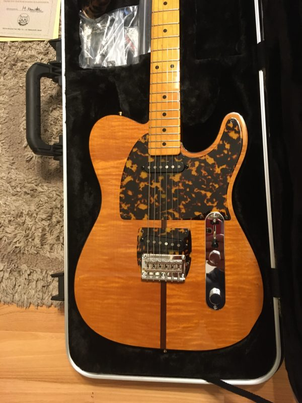 IMG 7885 600x800 - H.S. Anderson Madcat  Tele-Prince Guitar-Mint Condition-COA/Hardcase
