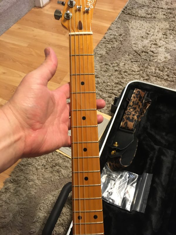 IMG 7887 600x800 - H.S. Anderson Madcat  Tele-Prince Guitar-Mint Condition-COA/Hardcase