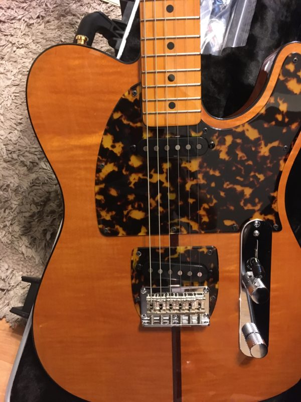 IMG 7888 600x800 - H.S. Anderson Madcat  Tele-Prince Guitar-Mint Condition-COA/Hardcase