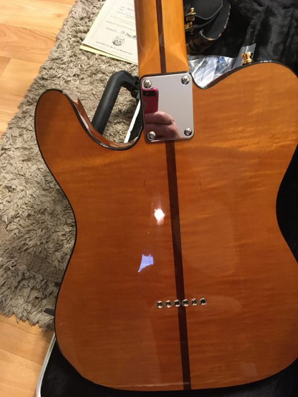 IMG 7890 600x800 - H.S. Anderson Madcat  Tele-Prince Guitar-Mint Condition-COA/Hardcase