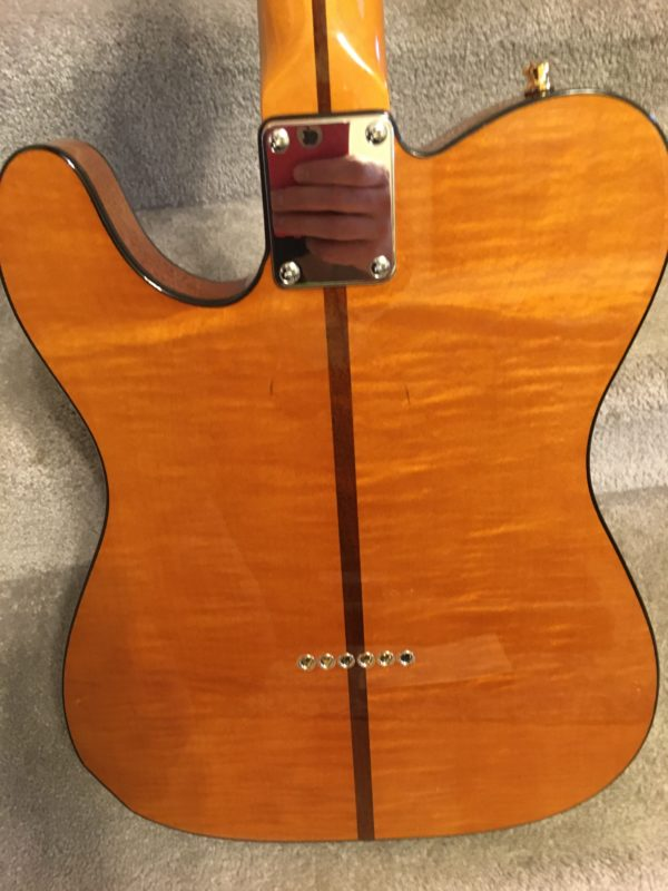 IMG 7895 600x800 - H.S. Anderson Madcat  Tele-Prince Guitar-Mint Condition-COA/Hardcase