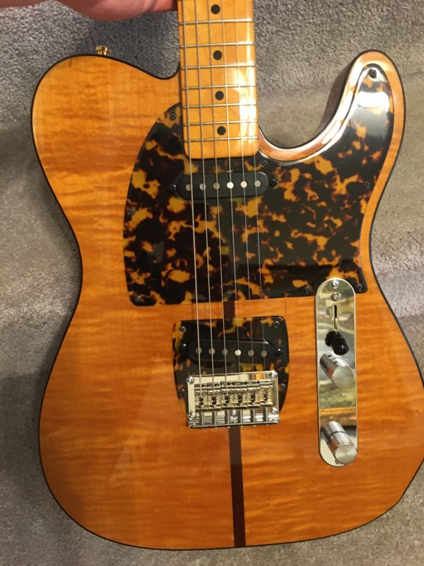IMG 7896 600x800 - H.S. Anderson Madcat  Tele-Prince Guitar-Mint Condition-COA/Hardcase