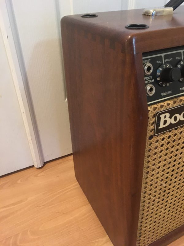 IMG 7949 600x800 - 1988 Mesa Boogie Mark III Combo Hardwood Cabinet/Wicker Grill-Awesome!