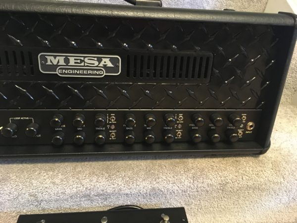 IMG 8281 600x450 - Mesa Boogie Dual Rectifier Black Out Special Edition Multi-watt Tube Head