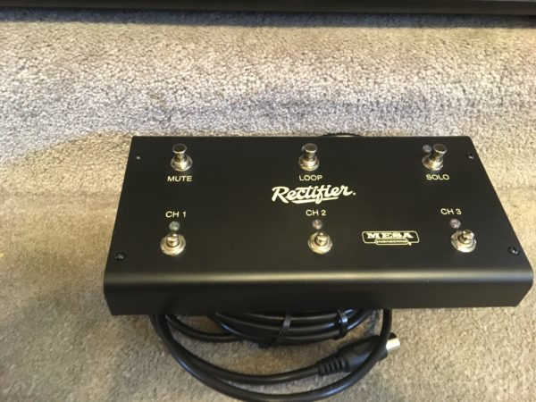 IMG 8282 600x450 - Mesa Boogie Dual Rectifier Black Out Special Edition Multi-watt Tube Head