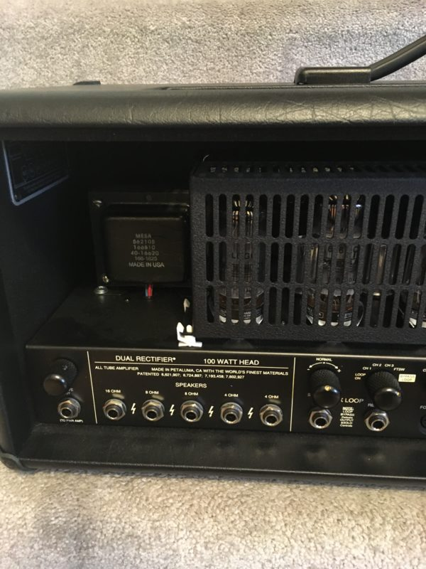 IMG 8285 600x800 - Mesa Boogie Dual Rectifier Black Out Special Edition Multi-watt Tube Head