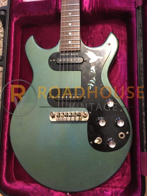 IMG 8391 600x800 - 1966 Gibson Melody Maker Pelham Blue Owned by Gunnar Nelson