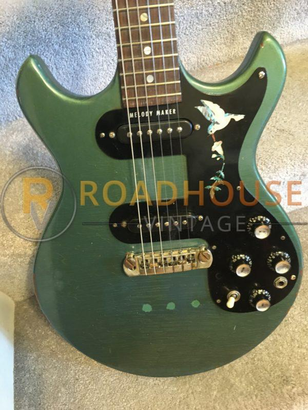 IMG 8399 600x800 - 1966 Gibson Melody Maker Pelham Blue Owned by Gunnar Nelson