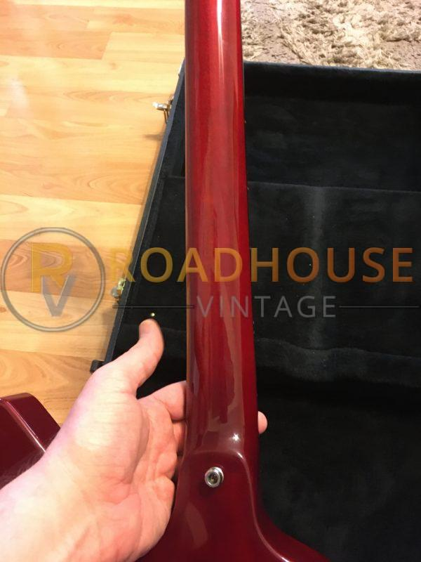 IMG 8441 600x800 - 1996 Dean USA Z Coupe Cherry Red Guitar W/Hard Case