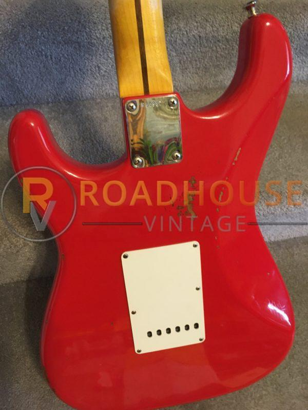 IMG 8639 600x800 - 2017 Fender Custom Shop 1961 Stratocster Relic H/S/H Hot Rod Red Strat 1-Piece Maple Neck