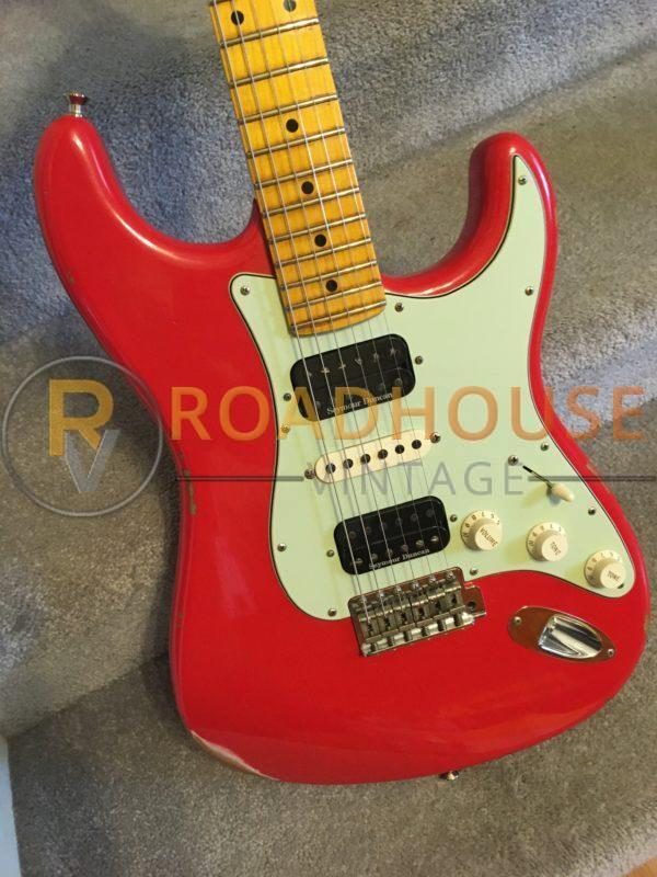 IMG 8644 600x800 - 2017 Fender Custom Shop 1961 Stratocster Relic H/S/H Hot Rod Red Strat 1-Piece Maple Neck