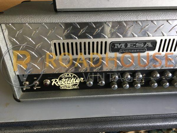 IMG 9288 600x450 - Mesa Boogie Dual Rectifier Tube Head Guitar Amp-Factory Grey Tolex W/Footswitch
