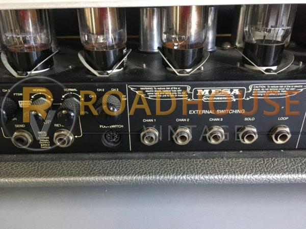 IMG 9301 600x450 - Mesa Boogie Dual Rectifier Tube Head Guitar Amp-Factory Grey Tolex W/Footswitch